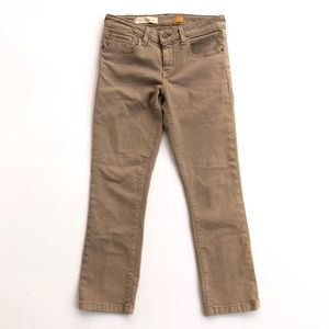 Pilcro and letterpress straight leg jeans
